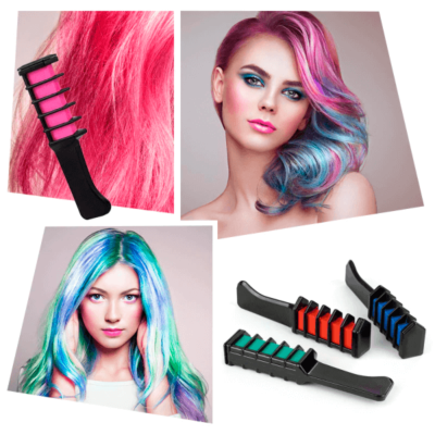 Chalk Comb Hair Color Temporary